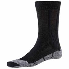 Xsocks Trek Silver W Opal Black/Dolomite Grey M