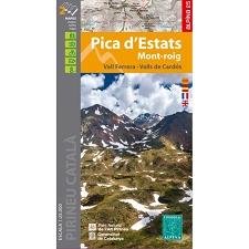 Ed. Alpina Mapa Pica D'Estats
