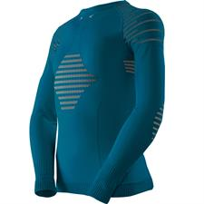 X-bionic T-Shirt Ls Invent 4.0 Jr Teal Bl/Anthr