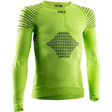 X-bionic T-Shirt Ls Invent 4.0 Jr Grn Lime/Blk