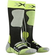 Xsocks Ski Jr 4.0 Anth Melange/Green Lime