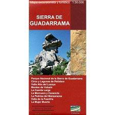 Ed. Calecha Mapa Sierra de Guadarrama 1:30000
