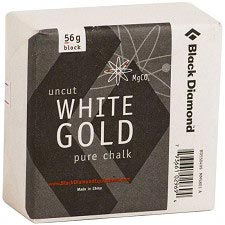 Black Diamond Solid White Gold Block