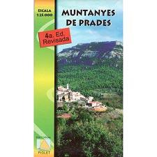 Ed. Piolet Mapa Montanyes de Prades 1:25000