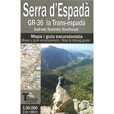 Ed. El Tossal Mapa Serra d'Espadà GR 36