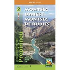 Ed. Cossetania Mapa Montsec D'Ares I Rúbies 1:20000
