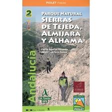 Ed. Piolet Mapas Sierra Tejeda y Alhama 1:25000