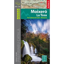 Ed. Alpina MAPA MOIXERÓ LA TOSA E25