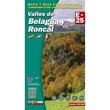 Ed. Alpina Mapa Belagua Roncal 1:25000