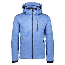 Campagnolo Zip Hood Melange Jacket