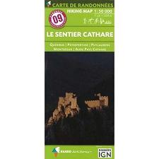 Ed. Rando Mapa Le Sentier Cathare 1:50000