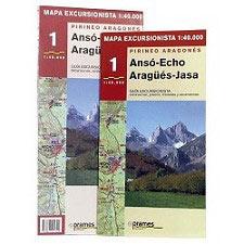Ed. Prames Trekking map ANSÓ, ECHO, ARAGÜES