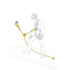 Petzl Kit Asap Lock Vertical Lifeline 10 M