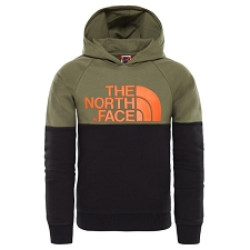 The North Face Drew Peak Raglan Pv Hoodie Youth