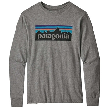 Patagonia Long-Sleeved Graphic Organic T-Shirt Jr