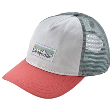 Patagonia Pastel P-6 Label Layback Trucker Hat W