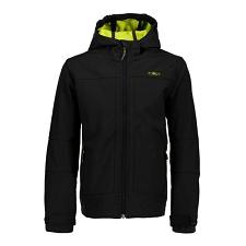 Campagnolo Softshell Fix Hood Jacket Boy