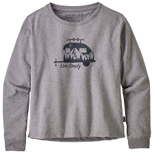 Patagonia Live Simply Trailer Uprisal Crew Sweatshirt W