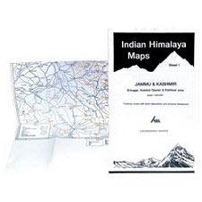 Ed. Leomann Maps Pu. Indian Himalaya 1, Jammu-Kashmir