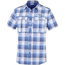 Columbia Cascade Explorer Plaid Ss Shirt