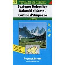 Ed. Freytag & Berndt Sextener Dolomiten - Cortina D´Ampezzo