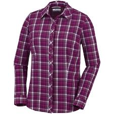 Columbia Saturday Trail Str Plaid Shirt W