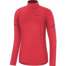 Gore Mid LS Zip Shirt W