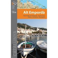 Ed. Alpina Carpeta Alt Empordà 1:50.000