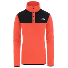 The North Face TKA Glacier Snap-Neck Pullover W