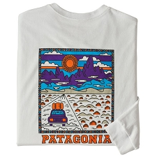 Patagonia MS L/S Summit Road Responsibili-Tee