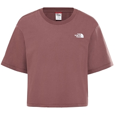 The North Face Cropped Simple Dome Tee W