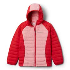 Columbia Power Lite Hooded Girl