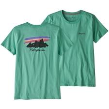 Patagonia Free Hand Fitz Roy Organic Cotton Crew T-Shirt