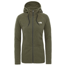 The North Face Mezzaluna Full Zip Hoodie W