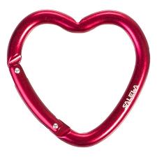 Salewa Heart Carabiner Red