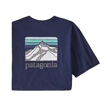 Patagonia Line Logo Ridge Pockt Resp-Tee