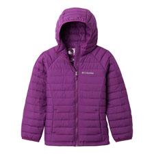 Columbia Powder Lite  Hooded Jacket Girls