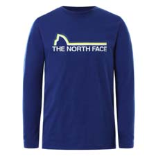 The North Face On Mountain LS Tee Boy