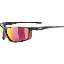 Uvex Sportstyle 310 Negro Rojo S4
