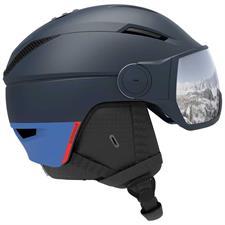 Salomon Helmet Pioneer Visor Dressblu/Sil Uni