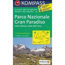 Ed. Kompass Gran Paradiso. Valle d´Aosta