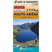 Ed. Rando Map of the Haute Ariege - Andorra 1:50000