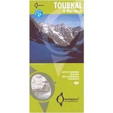 Ed. Orientazion Mapa Toubkal&Marrakech 1:50000