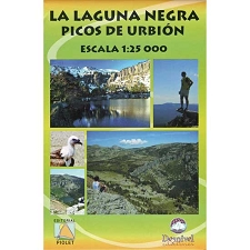 Ed. Piolet Map of Laguna Negra - Urbión 1:25000