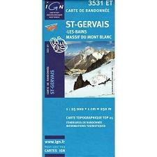 Ed. Ign France ST-Gervais-Les Bains. Massif Du Mont- Blanc