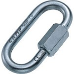 Camp Safety Oval Quick Link 8 mm Zinc-plated Steel