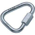 Camp Safety Delta Quick Link 8 mm Zinc-plated Steel