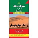Ed. Freytag & Berndt Morocco Map 1:800000/1:2000000