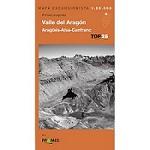 Ed. Prames Mapa Aragón-Canfranc Top25