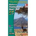 Ed. Alpina Tramuntana Sud Map E-25